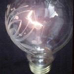 Broušená žárovka