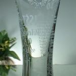 Broušená váza